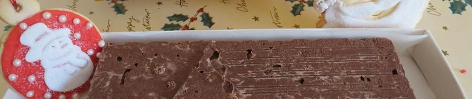 Turrón de chocolate con krispies con Thermomix