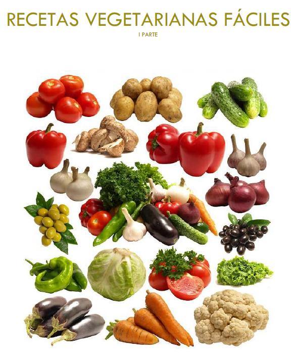 Recetas vegetarianas fáciles con Thermomix. Parte I