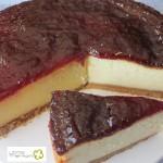Tarta de queso fresco de cabra
