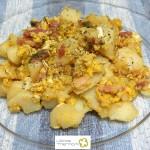 Revuelto de patatas y huevo con Thermomix