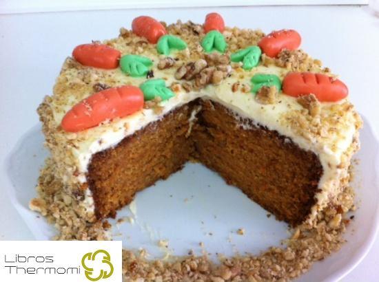 Pastel de zanahoria Carrot Cake