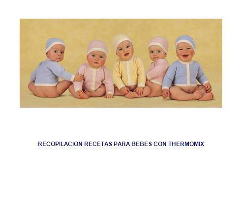 Recetas de Bebes con Thermomix