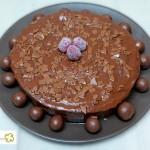 Tarta de chocolate fondant con Thermomix