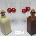 Licor al chocolate y Licor de Chocolate blanco con Thermomix