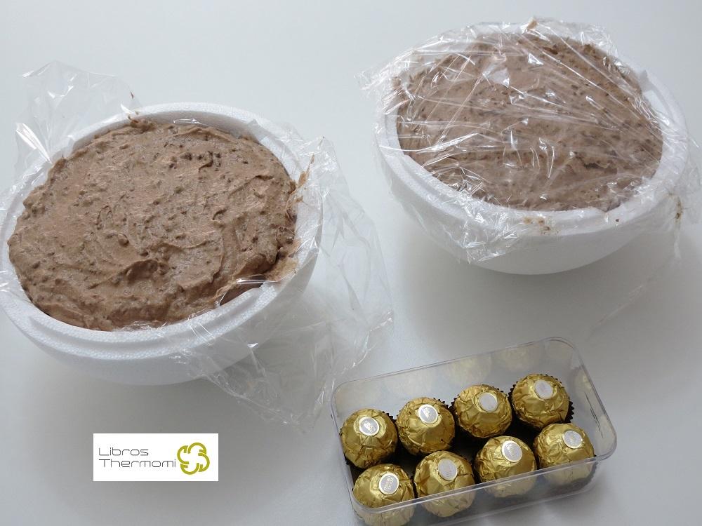 Tarta Ferrero Rocher XXL Montaje con Thermomix