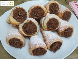 Caracolas de Crema Pastelera de Chocolate con Theromix | Libros gratis de recetas con Thermomix. Recetas y accesorios Thermomix