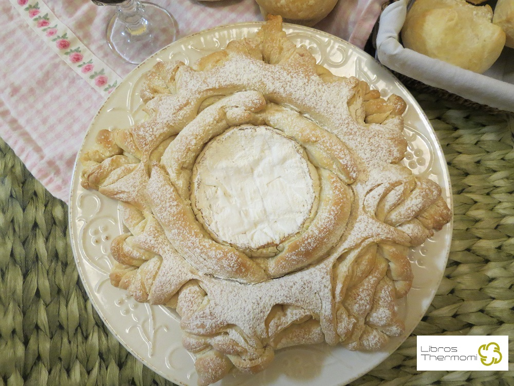 Pan con Camembert con Thermomix