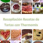 Portada Recopilación PDF Gratis Recetas de Tartas con Thermomix