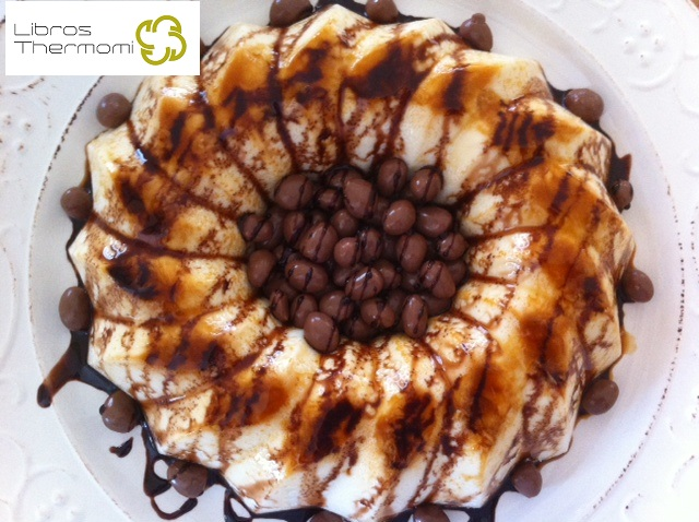 Flan de Chocolate blanco con Thermomix
