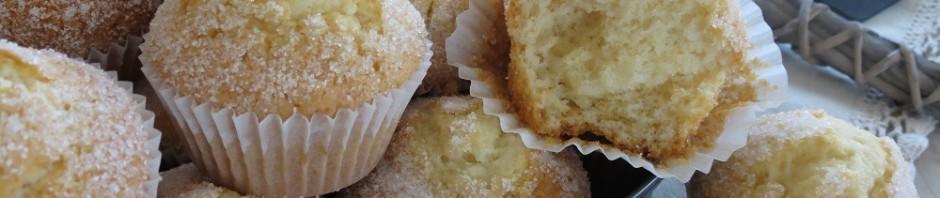Magdalenas de nata con aroma de vainilla con Thermomix