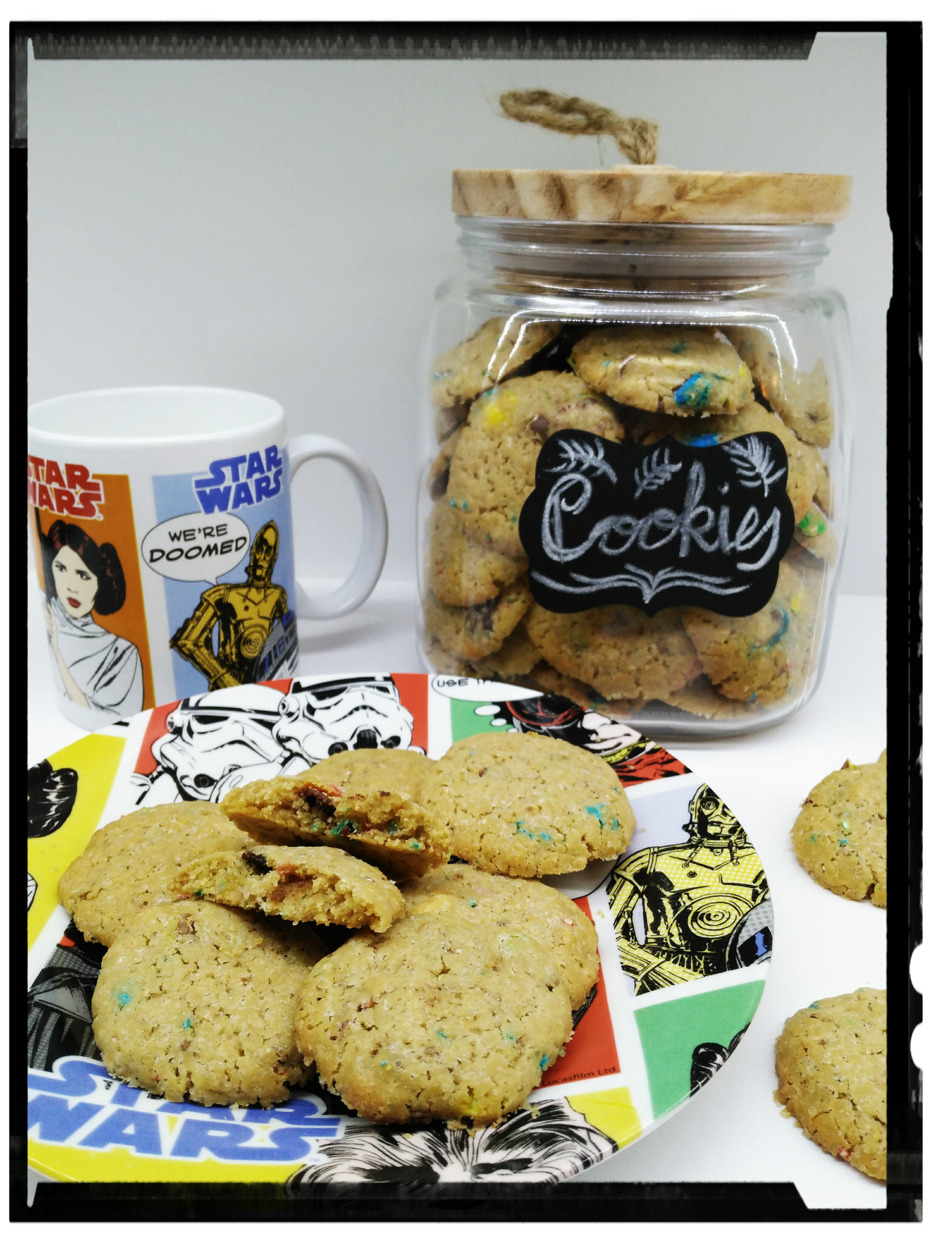 Galletas con M&M´s de cacahuete con Thermomix